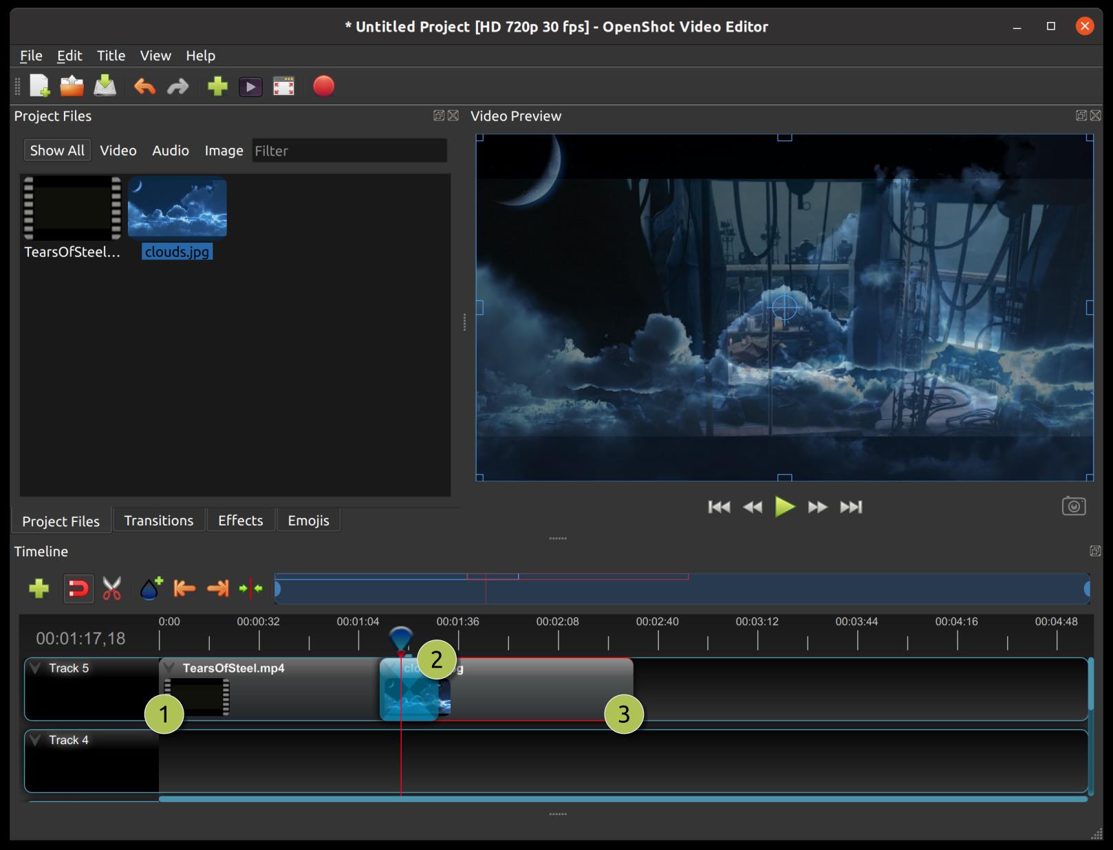 Clips — OpenShot Video Editor 2 4 1-dev1 documentation