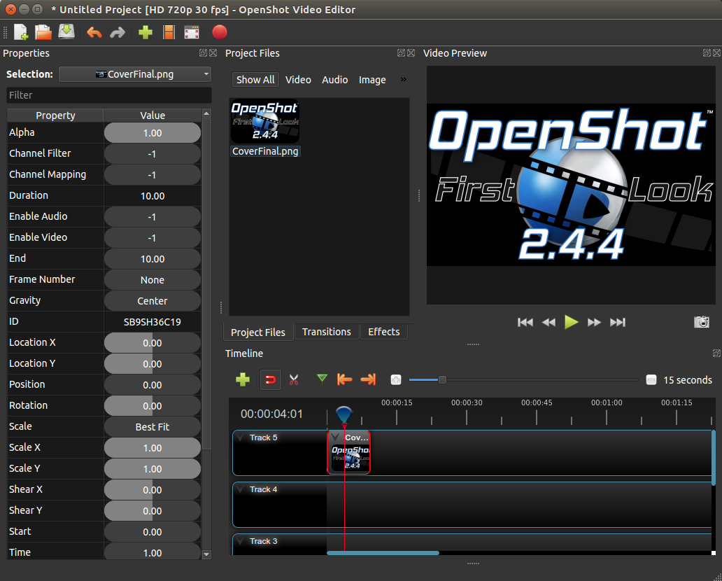 OpenShot Video Editor | OpenShot 2 4 4 Released | Keyframe Scaling