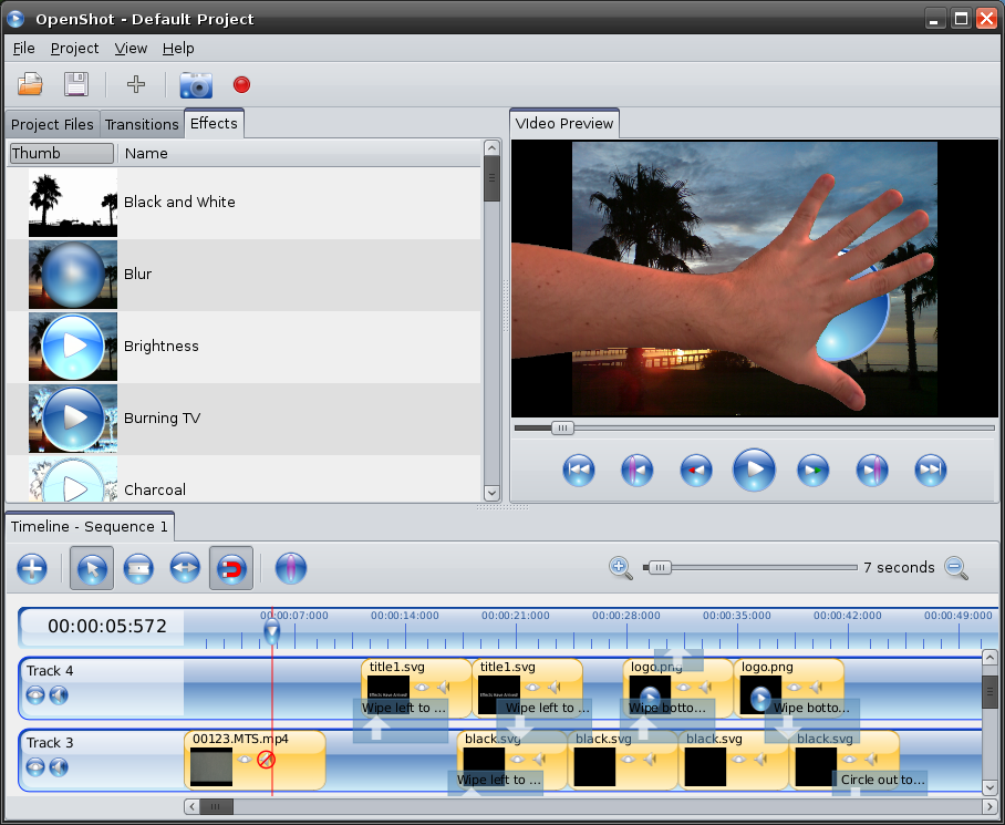 OpenShot Video Editor | The Magic has Arrived: Effects!!!