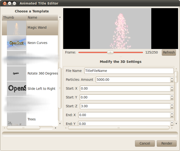 OpenShot Video Editor | Magic, Sparkles, and Fairy Dust!
