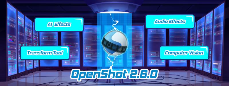 відео редактор OpenShot 2.6