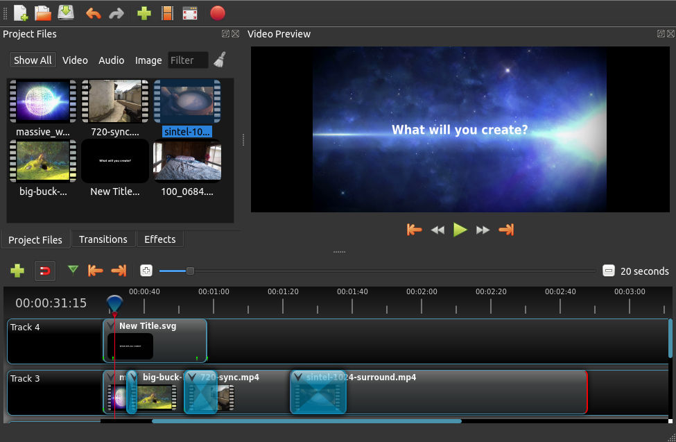 OpenShot Video Editor is an award-winning open-source video editor: Introduction and Features.