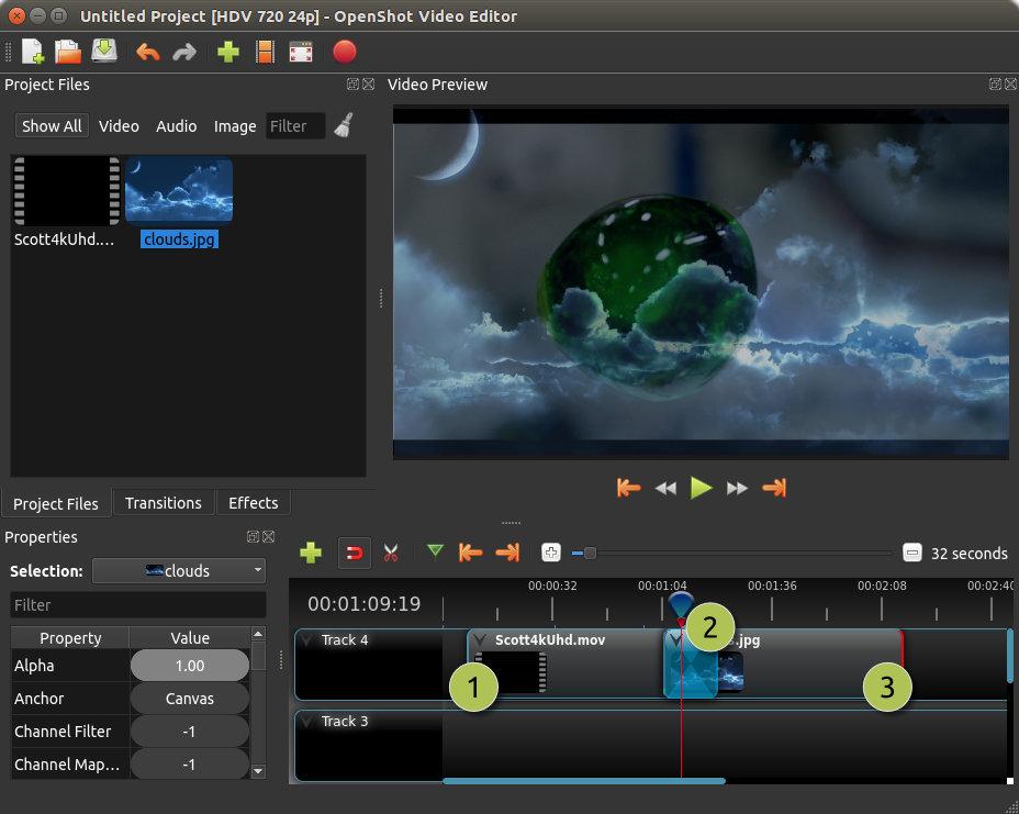 OpenShot Video Editor screenshot